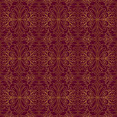 Golden seamless pattern — Stockvektor