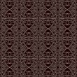 Seamless lace pattern with floral ornament — Imagen vectorial