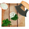 Cutting board — Stock Photo