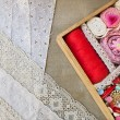 Box for needlework. — Stock Photo #39229431