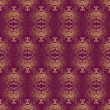 Luxurious golden seamless pattern — Stockvektor #39706625