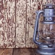 Stock Photo: Kerosene lamp
