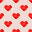 Seamless pattern with hearts — Stock Vector #40138543