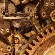 Abstract stylized collage of a mechanical device — Stock Photo #42768387