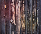 Old blackened boards. Wood texture — Stockfoto