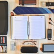 Set of business accessories — Stock Photo