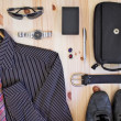 Set of men's clothing and accessories. — Stock Photo #51570101