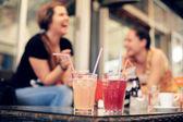 Summer drinks — Stock Photo