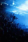 People enjoy in music — Stock Photo