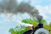 Steam and Smoke — Stockfoto