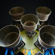 Stock Photo: F-1 Rocket Engines