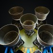 F-1 Rocket Engines — Stock Photo