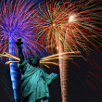 Liberty Celebrations — Stock Photo #34140935