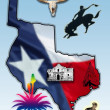 Republic of Texas — Stock Photo #34367183