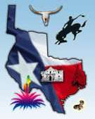 Republic of Texas — Stock Photo