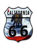 Route 66 California — Stock Photo