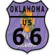 Route 66 Oklahoma — Stock Photo