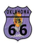 Route 66 Oklahoma — Stock Photo