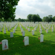 Stock Photo: Fort Sam Cemetery