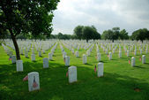 Fort Sam Cemetery — Stock Photo
