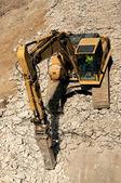 Busting beton — Stockfoto