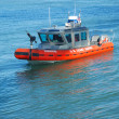Stock Photo: Coast Guard on Patrol