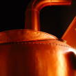 Stock Photo: Copper Brew Kettle