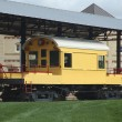 Stock Photo: Yellow Brewery Train