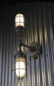 Illuminazione industriale — Foto Stock