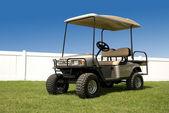 New Golf Cart — Stock Photo