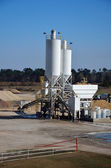 White Cement Plant — Stock Photo
