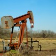 Red Pump Jack — Stock Photo #40907821