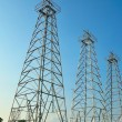 Stock Photo: Triple Derrick