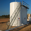 Storage Tanks with CatWalk — Stock Photo #40909943