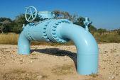 Pipeline Control Valve — Foto Stock