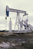 Pump Jack White — Zdjęcie stockowe
