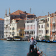 Venice canal gondola — Stock Photo