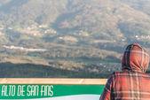 Alto de San Fins — Стоковое фото