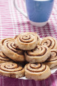 Cinnamon rolls series 14 — Stock Photo