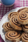 Cinnamon rolls series 13 — Stock Photo