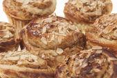 Rolls stuffed apple and almonds series 01 — Foto Stock