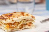Vegetabiliska lasagne serie 05 — Stockfoto