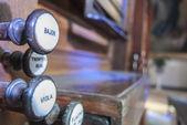 Church piano — Stockfoto