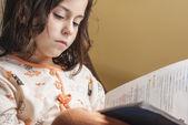 Girl studying series 01 — Stock Photo