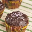 Stock Photo: Chocolate muffins series 03