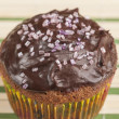 Stock Photo: Chocolate muffins series 01