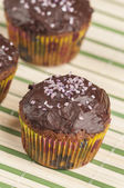 Chocolate muffins series 03 — Stock Photo