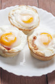 Muffins bacon and egg series 01 — Photo