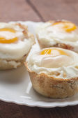 Muffins bacon and egg series 06 — Photo