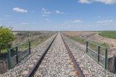 Spoorlijn track reeks 02 — Stockfoto